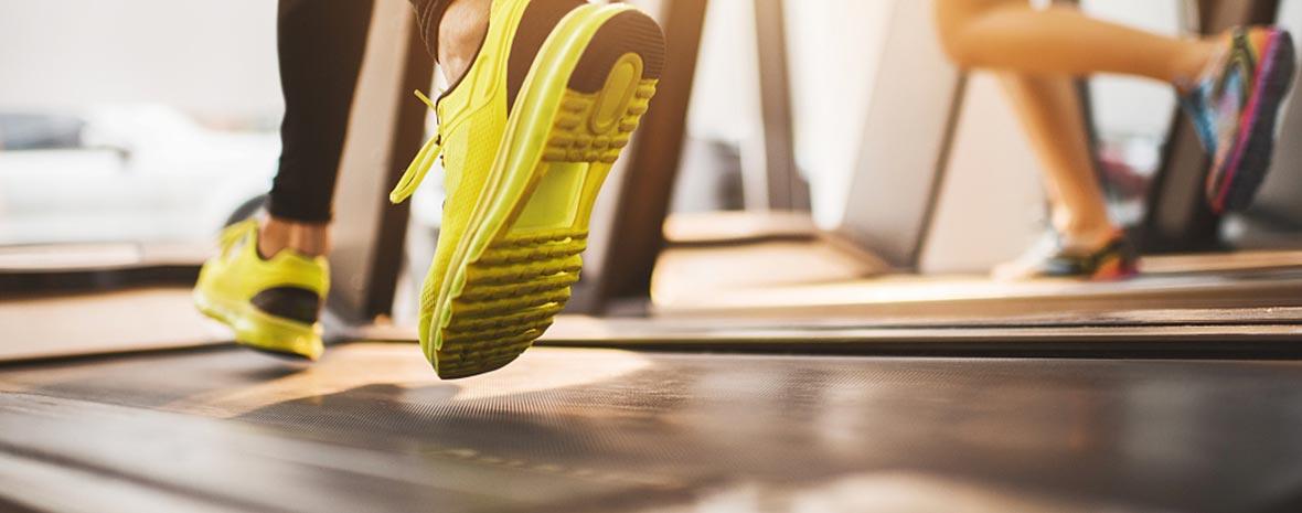Run for Success Running on Treadmill